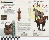 Image of Imperial China The Art of the Horse pamphlet
