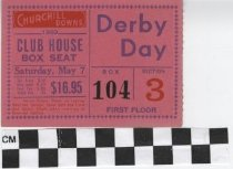 Image of Derby Day 1960 ticket
