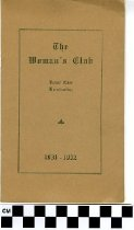 Image of The Woman's Club Program