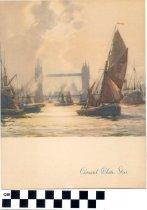 Image of Cunard White Star Luncheon Menu