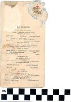 Image of The Majestic Luncheon Menu