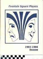 Image of Fountain Square Players 1993-1994 Season program