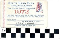 Image of Beech Bend Park Complimentary Pass