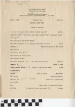 Image of National Music Week Program, The Presbyterian Church, 1948