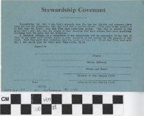 Image of Stewardship Covenant Membership Card