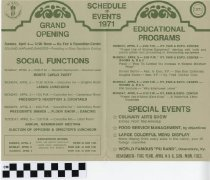 Image of Convention and Exposition Kentucky Restaurant Association Program