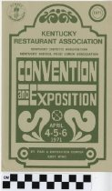 Image of Convention and Exposition Kentucky Restaurant Assoication Program