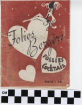 Image of Folies Bergere play program