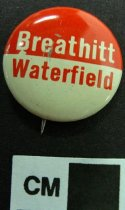 Image of Breathitt Waterfield Political Button