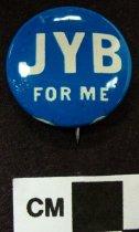 Image of 2009.218.292 - John Y. Brown, Jr. political button