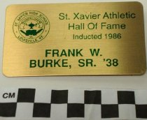 Image of 2009.218.297 - Frank W. Burke, Sr. identification tag