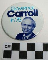 Image of 2009.218.303 - Julian M. Carroll political button