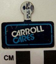 Image of 2009.218.305 - Julian Carroll political tab