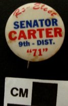 Image of 2009.218.312 - J. C. Carter political button