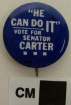 Image of 2009.218.319 - J. C. Carter political button
