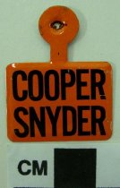 Image of Cooper Snyder Political Tab