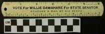 Image of 2009.218.342 - Willie Dawahare ruler