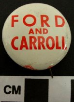 Image of 2009.218.349 - Wendell H. Ford & Julian Carroll political button