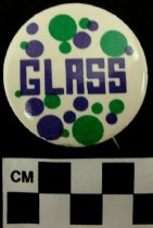 Image of 2009.218.354 - Glass political button