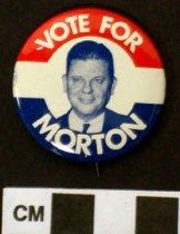 Image of Thruston B. Morton political button - Button, Political