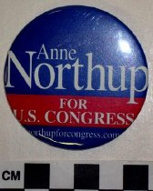 Image of Anne Northup political button - Button, Political