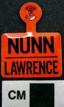 Image of Louie B. Nunn and ? Lawrence political tab - Tab, Political