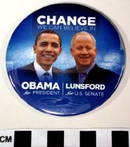Image of 2009.218.394 - Barack Obama and Bruce Lunsford political button
