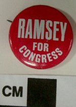 Image of 2009.218.399 - Denzil J. Ramsey political button
