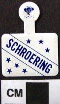 Image of 2009.218.411 - Edwin A. Shroering, Jr. political tab