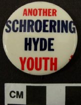 Image of Schroering & Hyde Political Button