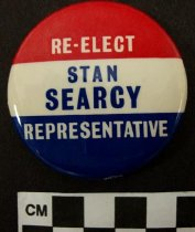 Image of 2009.218.415 - Stan Searcy political button