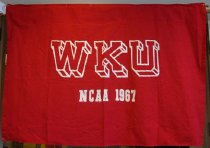Image of 2009.218.452 - WKU NCAA 1967 banner