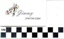 Image of Jimmy Calling Card
