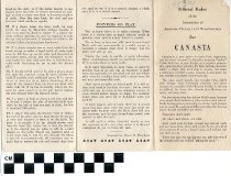 Image of Canasta Rules
