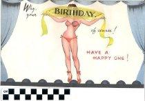 Image of Birthday greeting card