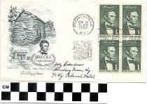 Image of Lincoln Sequicentennial One Cent Issue Envelope