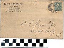 Image of Kodak Department Envelope