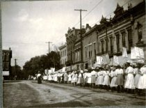 Image of Women Marching for Temperance -