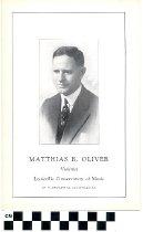 Image of Matthias R. Oliver pamphlet