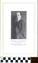 Image of Dwight Anderson pamphlet