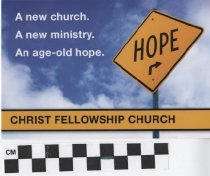 Image of Christ Fellowship Church Launch Celebration Invitation