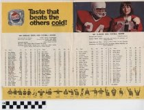 Image of Football Schedule 1967