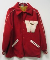 Image of WKU letterman's jacket
