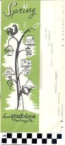 Image of Spring 1956 L. Mendelson Catalog