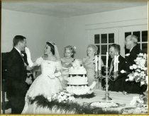 Image of Photograph of Jefferson wedding reception -