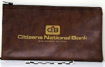 Image of Overall view of Citizens National Bank Deposit Bag