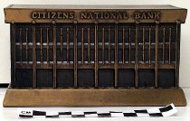 Image of Overall view of Citizens National Bank bank