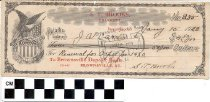 Image of Brownsville Deposit Bank Check