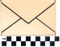 Image of Mourning  stationery [envelope] -