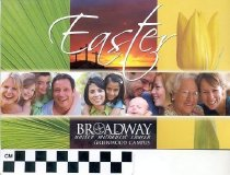 Image of Broadway United Methodist Church Easter [invitation] -